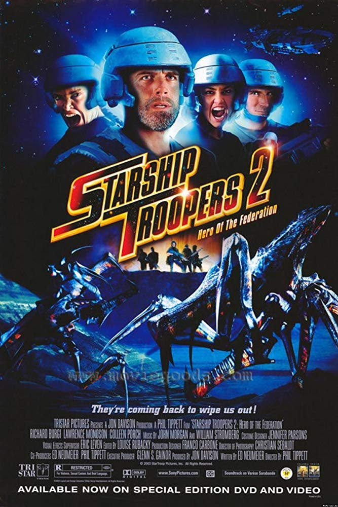 Starship Troopers 2: Hero of the Federation (2004) สงครามหมื่นขาล่าล้าง