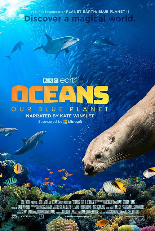 Oceans: Our Blue มหาสมุทร ในดาวเคราะห์สีน้ำเงินของเรา (2018)